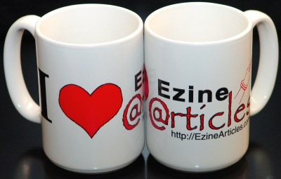 Get 2 I Love EzineArticles Limited Edition Mugs