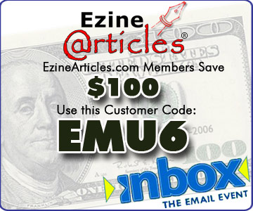 inbox event, customer coupon code save $100 USD