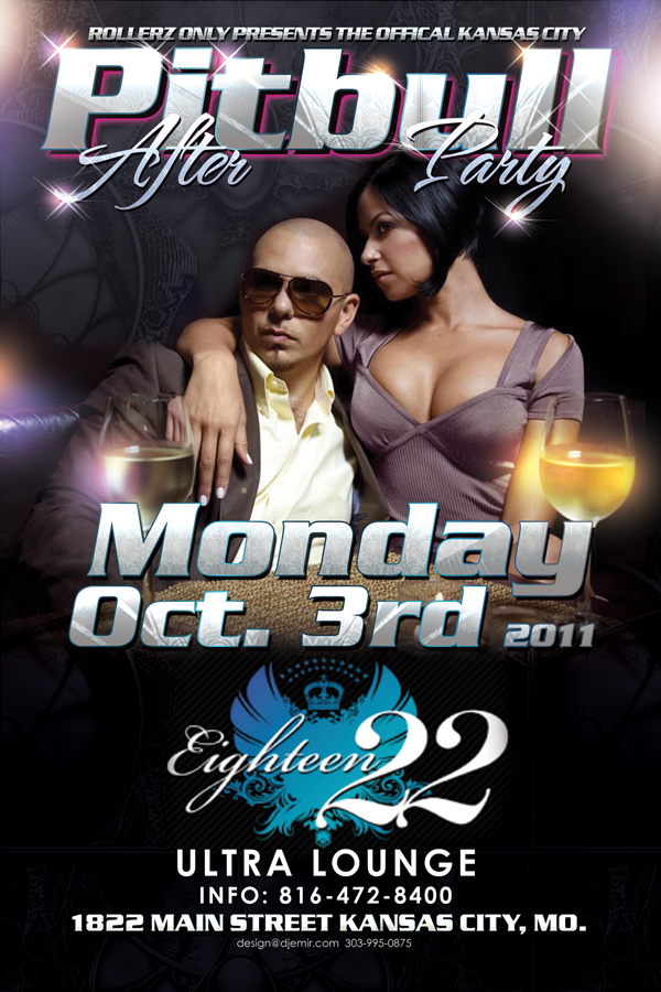 pitbull concert after party flyer design ezinearticles com expert